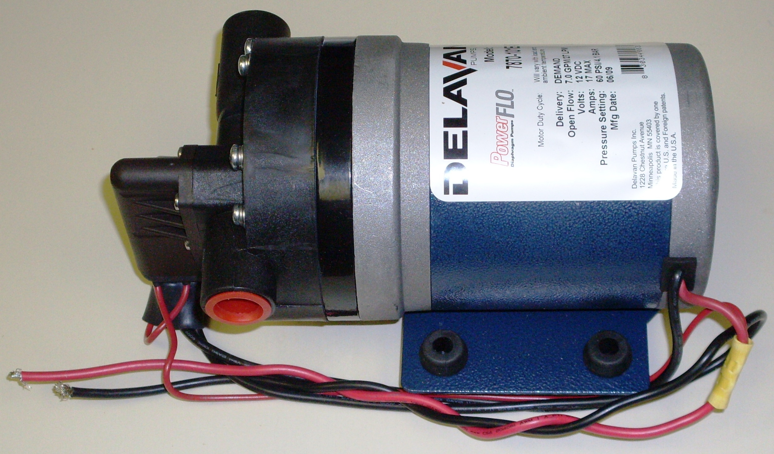 DELAVAN 4 delavan fatboy pump fb2 7870 101y fb roof cleaning soft wash pump  at alyssarenee.co