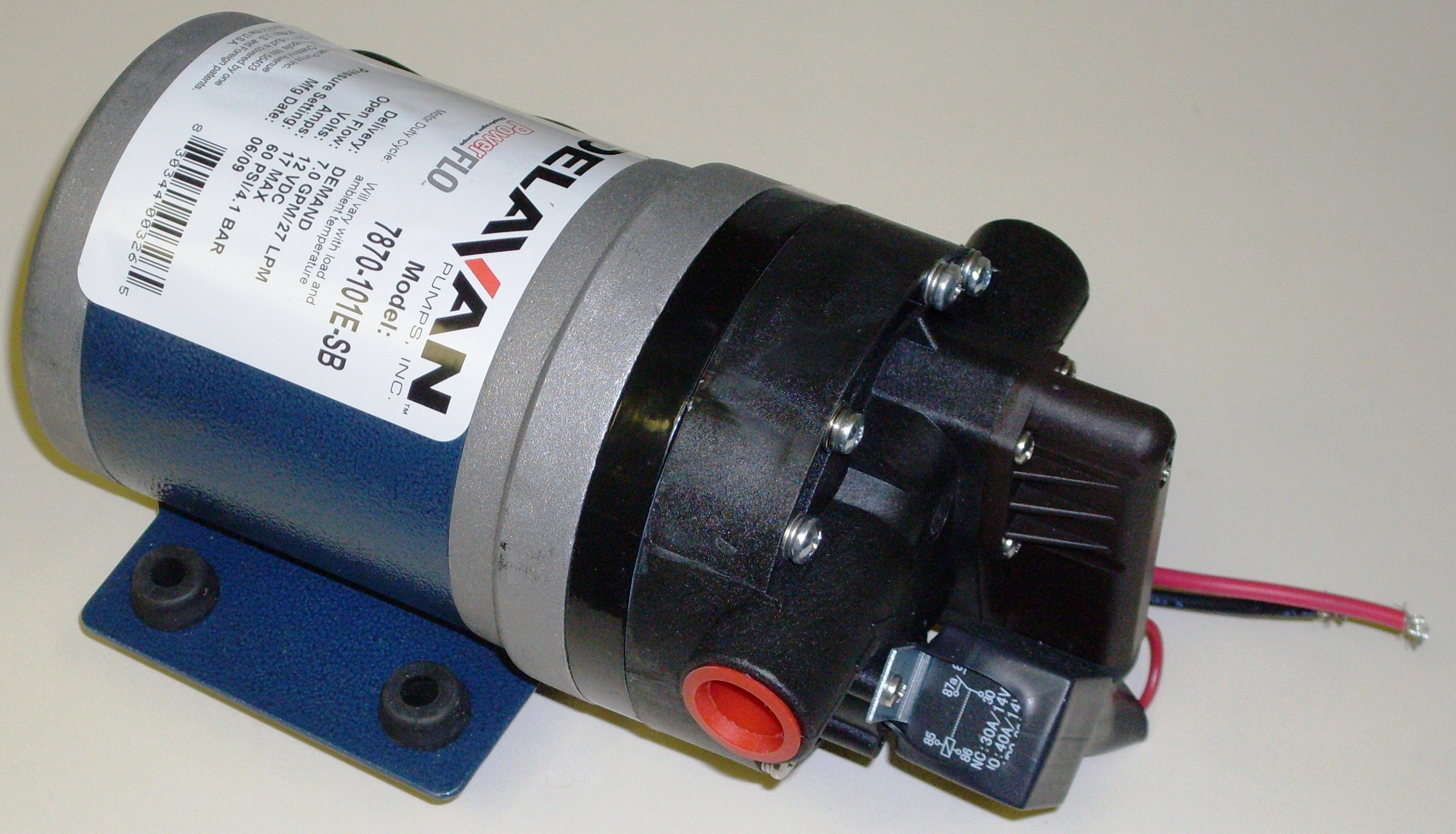 DELAVAN 5 delavan fatboy 12 volt softwash roof cleaning pump fb 7870 101e  at alyssarenee.co
