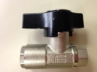 "BALL VALVE 3050PSI 1/2"" FPT NICKEL PLATED DN10 DN 10 CE HEAVY DUTY PRESSURE WASHER BALL VALVE 6293"