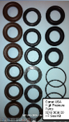 5019.0038.00 KIT HP SEAL KIT, COMET 5019.0038.00 HIGH PRESSURE SEAL KIT 18 MM