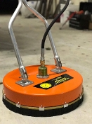 WW3000E, CLASSIC, HOVER, SURFACE CLEANER, WW EXTREME CLASSIC 3/8 hose, ORANGE CLASSIC
