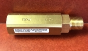 "3/8"" FPT HIGH PRESSURE HIGH FLOW INLINE FILTER BRASS, 5397"